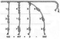 quipu knots 1